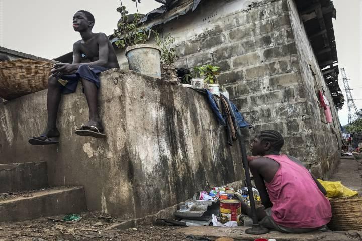 Infancia Sierra Leona