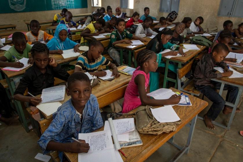 Escuela en Malí