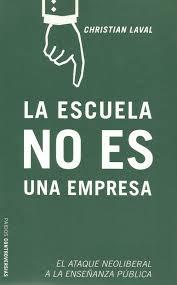 libro La Escuela no es una empresa