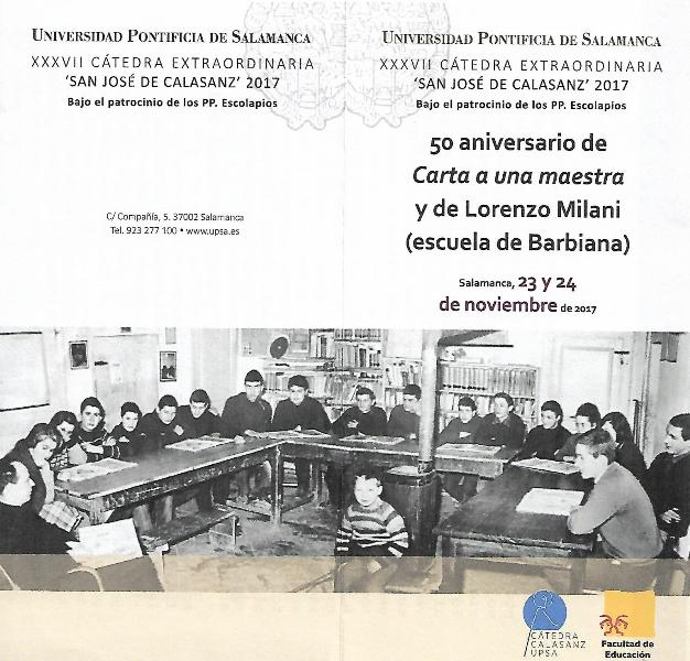 programa Seminario Milani